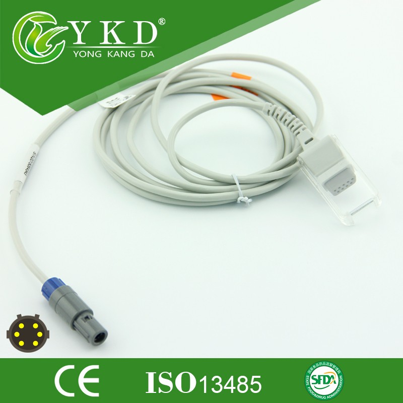Quality assurance CE ISO13485 approved Adapter Cable Compatible for SpO2 Extention Cable with cheap price