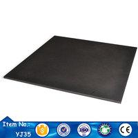 wholesale price outdoor black painting ceramic floor tile american