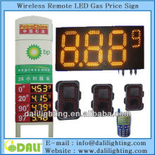 Excellent factory of digit design easy for maintaining high brightness waterproof For petrol station led gas price money board 7