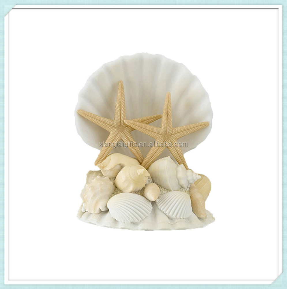 Coastal Seashell resin cake topper wedding accessory decoration