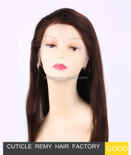 cheap price ponytail side part human hair short bob lace front wig for black person