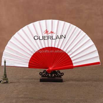 Promotional business gifts Spanish folding wood hand fan