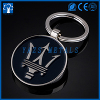 Factory supply custom rotatable metal keychain with your logo