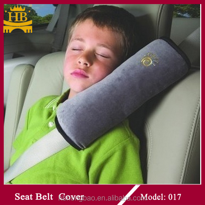 Optional color velvet safety belt seatbelt cover