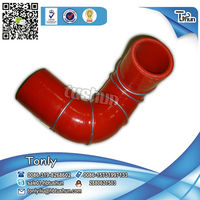Hot Temperature OEM 320040000123-2 sany construction machinery silicone tube
