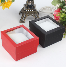 custom high quality luxury hard paper watch gift box with lower price