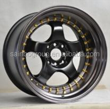 Deep dish Aluminum Alloy wheels for cars rims 1022