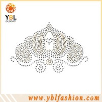 Korean Rhinestone Crown Motif Embellishments