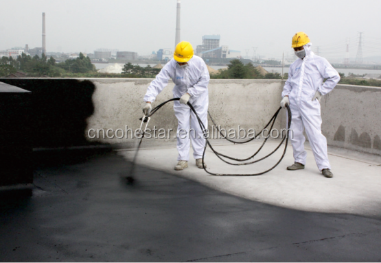 Liquid Bitumen Rubber Roof Coating for Waterproofing