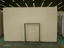China Crema Marfil Color Marble Slab