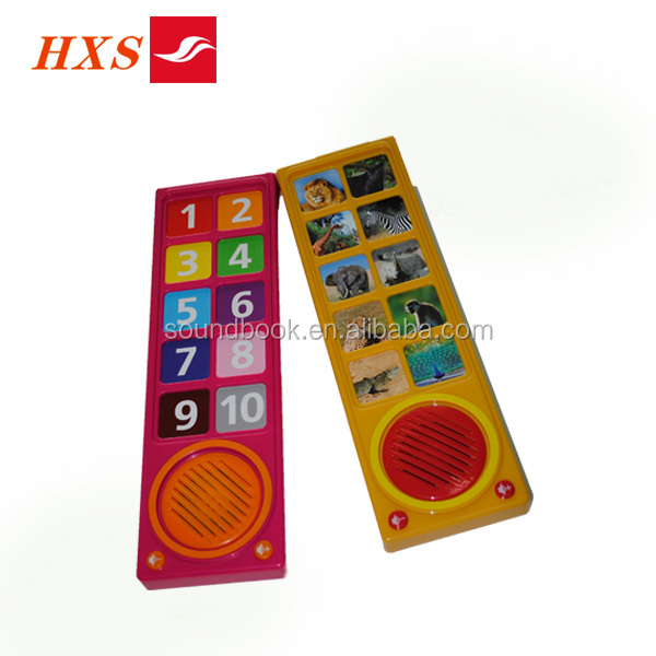 Bar type sound module for children book