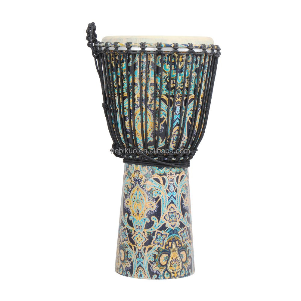 KF085B Cloth Wholesale African Drums Djembe