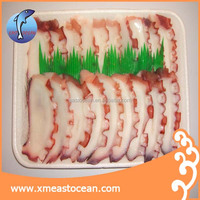 frozen cooked octopus slice