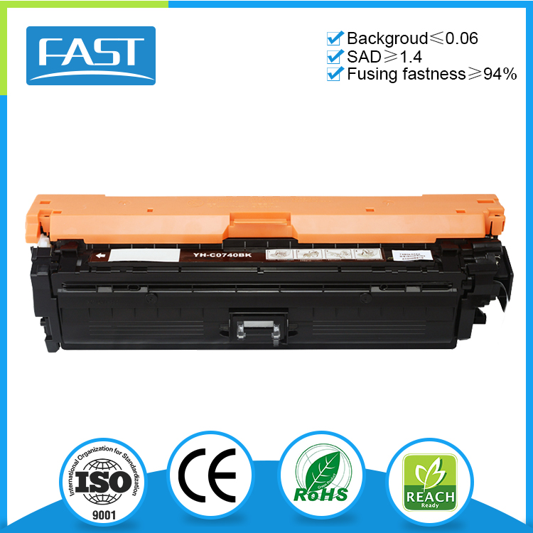China premium quality CE740A Compatible Laser Toner Cartridge for CP5225 CP5225n CP5225dn