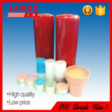 Hot blown tubular/sleeve PVC heat shrink packaging film/bags