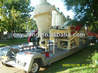 YULONG Mobile wood pellet production line/straw pellet machine/rice husk pellet machine