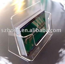 Acrylic Name Card Display, Perspex Business Card Holder,Plexiglass Credit Card Holder