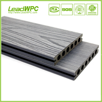 coextrusion wpc decking for gazibo, pool exterior floor covering