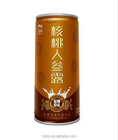 240ml canned Halal Soft Drink Walnut Ginsen Juice