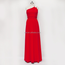 2015 long red fashion dress backless wedding dress;great back design dress