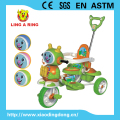 CE approved cheap baby tricycle with music Lovely cheap baby trike with canopy