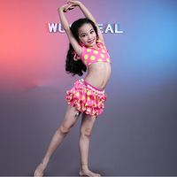 New Design Kids Belly Dance Costume for Girls in 4 Colors