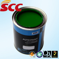 UN-S19 UNIC 2K Green (with yellow) auto base coat