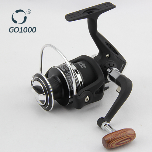 China Small Cheap Spinning Pesca Tackle For Outdoor Sport Kids With Metal Spool GO1000