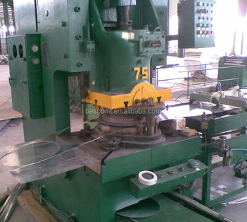 circle cutting machine by vacillate to the left and right feeding for punch