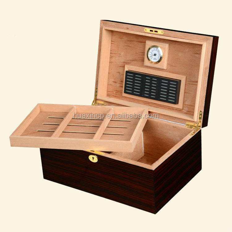 Wooden high quality custom single cigar boxes