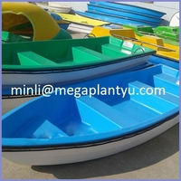 CE row boat carbon fiber with wooden oars /rowing boat for sale