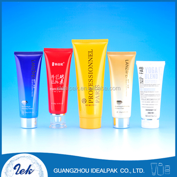 Various plastic tubes cosmetic packaging tubes for eye cream skin care soft tubes