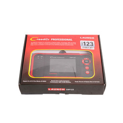 LAUNCH Creader CRP123 obd2 eobd code reader Auto Diagnostic Tool Test Engine ABS SRS Airbag AT CRP 123 scanner As Creader vii+