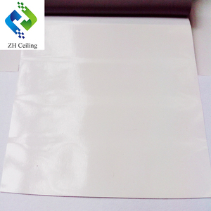0.18mm thick 3.2mWx100mL per roll new interior decoration materials for hall glossy lacquer pvc stretch ceiling film
