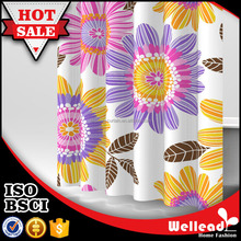 Sunflower Printed Polyester Shower Curtain