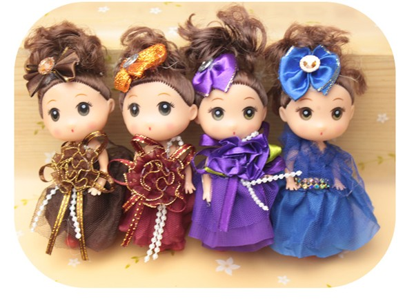 Custom Micro Mini Dolls Dress Up Games For Girls Toys