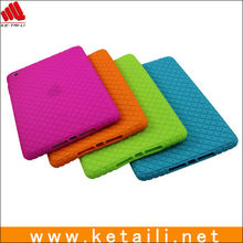 Silicone diamond pattern design for mini ipad accessory