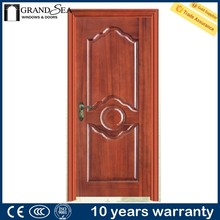 Economic price aluminum flush new product hdf wooden door design