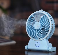Fragrance Summer Fans Mist Spray Muti Function Small Fans