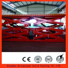 Hydraulic Car Elevator Different Types Of Scissors Vertical Parking System