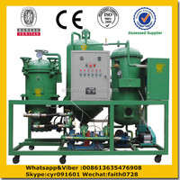 lubricating oil usage waste management equipment/lube oil recycling plant