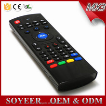 Soyeer Mx3 Wireless Bamboo Keyboard And Mouse Bluetooth Remote Control