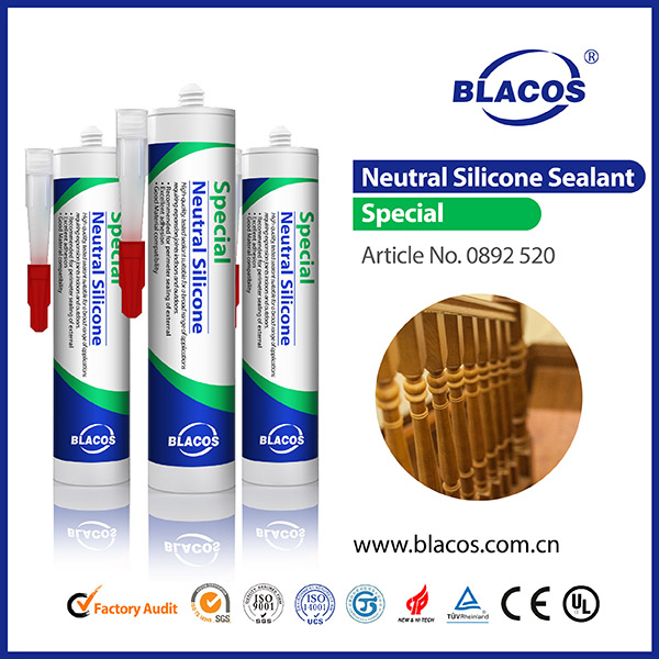 Top Quality Broad Adhesion 100% Silicone Based Concrete Block Adhesive
