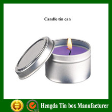 High quality tin can for candle