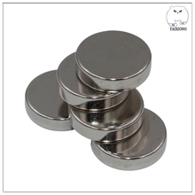 Free Sample Ultra Thin Strong Round Neodymium Magnet For Packing