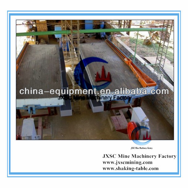 high recovery ratio tin ore recovery vibrating table,shaking table price,shake table machinery
