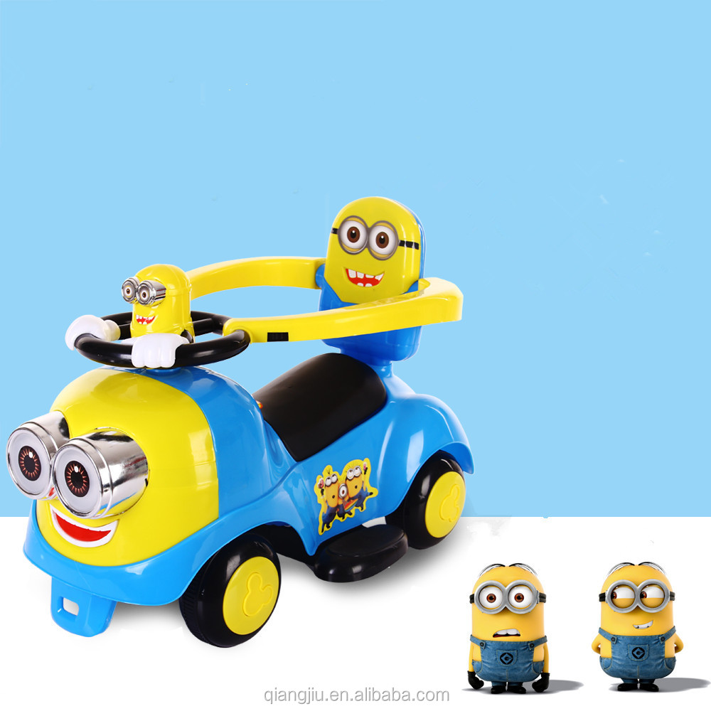 environment friendly 4 wheels children toys wholesale plastic push cars for kids