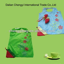 Recycled Folding Fruit Shape Shopping Bag