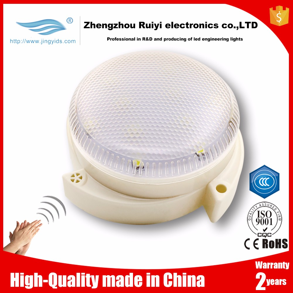 3W Sound Sensor led Lamp Voice control Light for Property Management