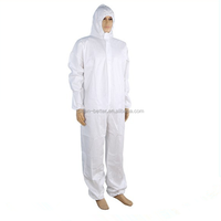 white waterproof factory price wholesales type 5 type 6 disposable coverall